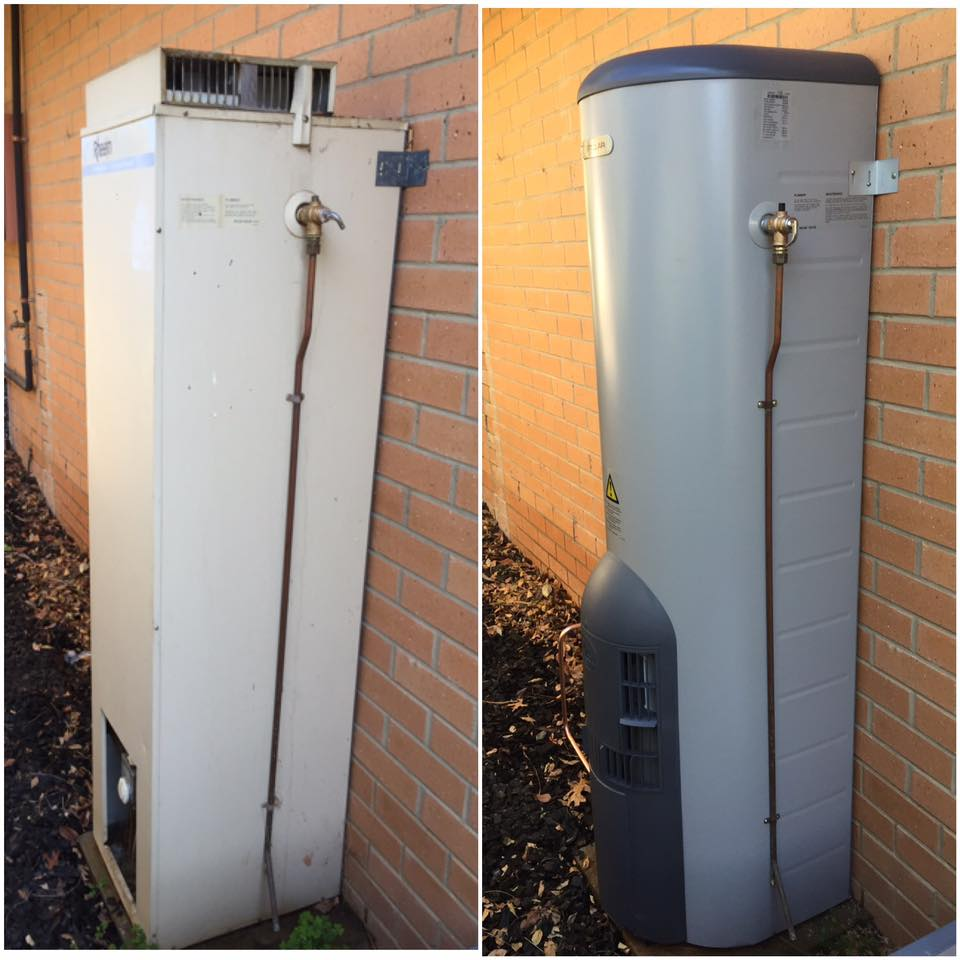 hot water repair canberra
